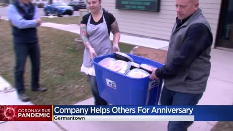 West Bend business celebrates anniversary by giving to restaurants, nonprofits affected by coronavirus