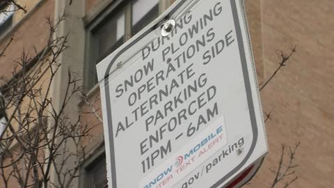 Move or get a ticket: Winter parking rules in effect