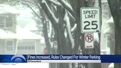 Milwaukee's winter parking rules have changed -- here's what you need to know