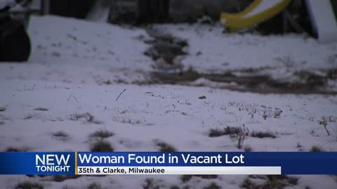 Woman found unconscious in vacant lot near 35th and Clarke