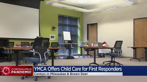 YMCA of Metro Milwaukee offers child care to first responders, medical personnel fighting COVID-19 pandemic