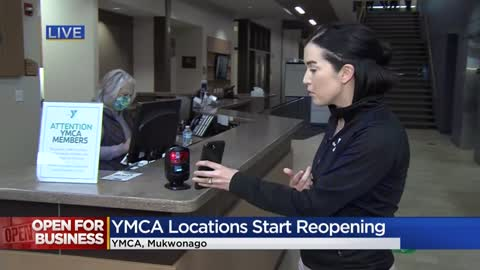 Four Waukesha Co. YMCA locations reopen, Milwaukee Co. to open Friday