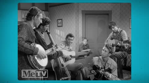 Andy Griffith performs Duelin' Banjos with the Darlings