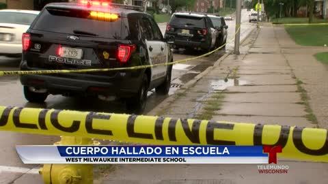 Hombre encontrado muerto en instalaciones escolares de West Milwaukee Intermediate