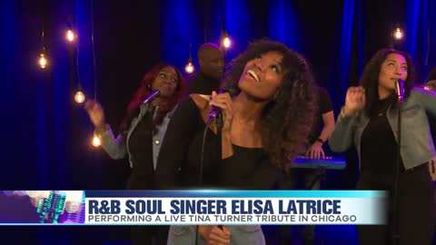 Elisa Latrice Performs Tina Turner Tribute