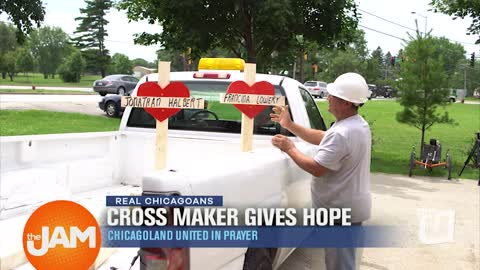 Real Chicagoans: Cross Maker Gives Hope
