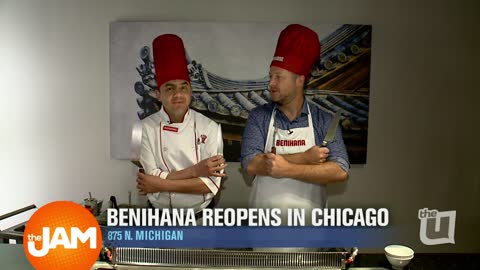 Benihana's Reopens in the Chicago Loop