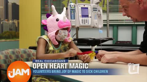 Real Chicagoans: Open Heart Magic