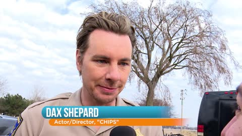 Dax Shepard Talks CHiPs and Michael Pena