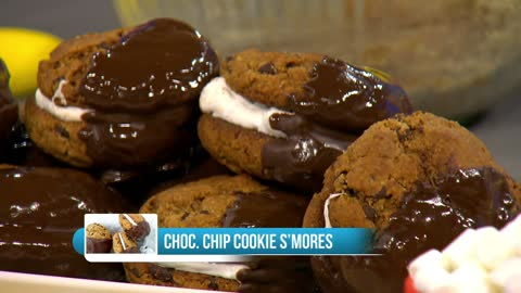 Chocolate Chip S'more Cookie Recipe