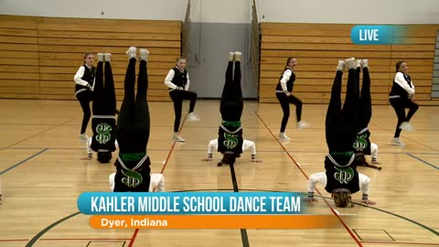 Kahler Middle School Dance Team: Part 1