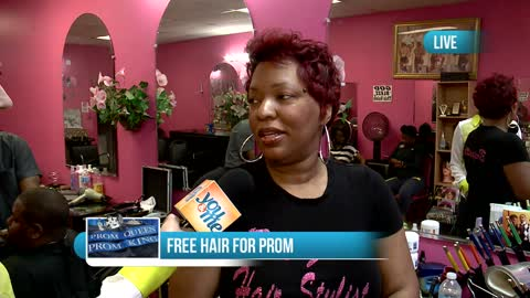 Free Hair for Prom at Total Hair Salon