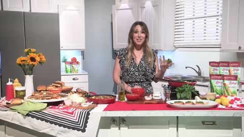 Cooking with Haylie Duff