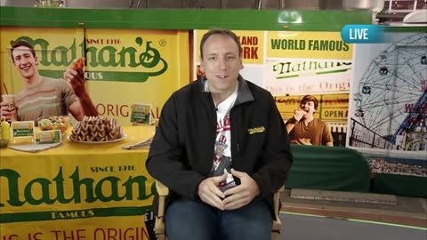 Catching Up with Joey Chestnut