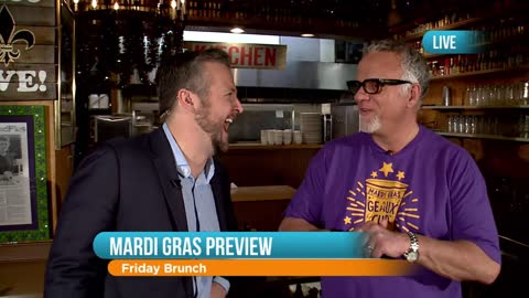 Mardi Gras Preview at Heaven on Seven: Part 2