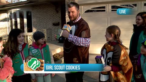 Selling Girl Scout Cookies in Downers Grove: Part 2