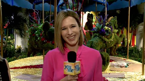 Macy's Flower Show Preview: Part 1