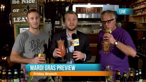 Mardi Gras Preview at Heaven on Seven: Part 1