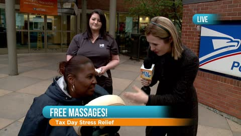 Free Massages on Tax Day: Part 2