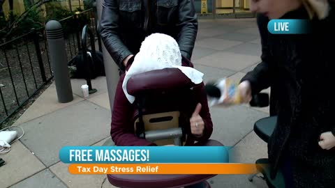 Free Massages on Tax Day: Part 1